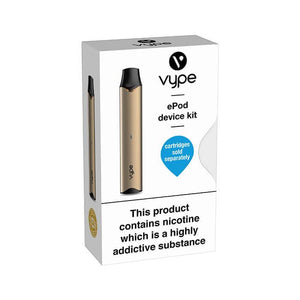 Vype ePod Device Vape Kit Gold