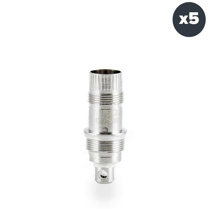 Aspire Nautilus BVC Atomizer Head /Coil 5 pack - x 5