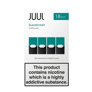 Juul Pods Glacier Mint x 4Replacement Pods 18mg