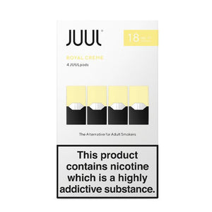 Juul Pods Royal Creme x 4 Replacement Pods 18 mg