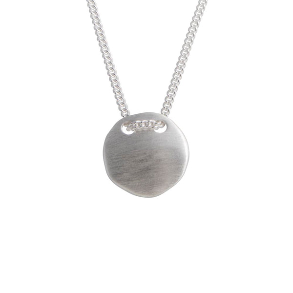 TAG NECKLACE - SILVER
