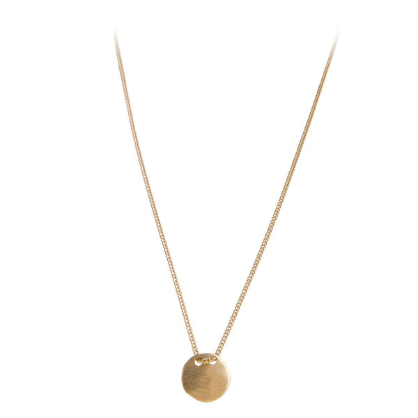 ALEXA TAG NECKLACE - GOLD