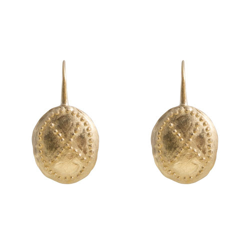 WARRIOR EARRINGS - GOLD