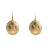 ALEXA WARRIOR EARRINGS - GOLD