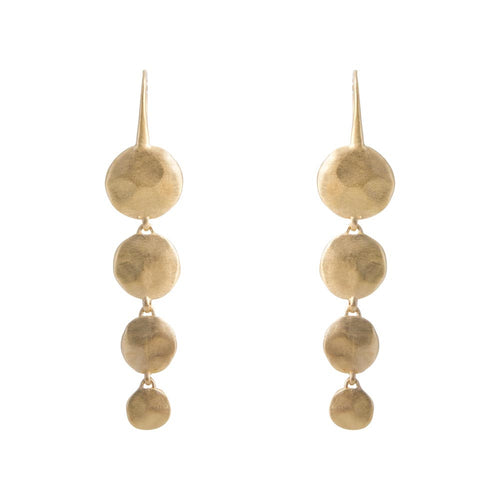 WATERFALL EARRINGS - GOLD