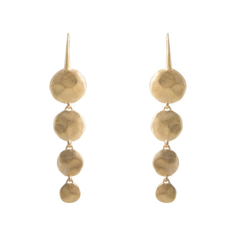 ALEXA WATERFALL EARRINGS - GOLD