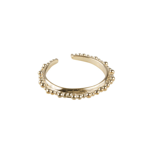 ALEXA CROWN RING - GOLD