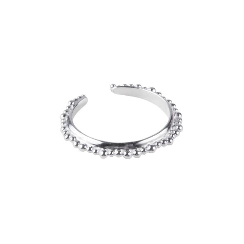 ALEXA CROWN RING - SILVER
