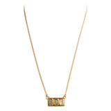 SAMARA TOURMALINE BAGUETTE NECKLACE