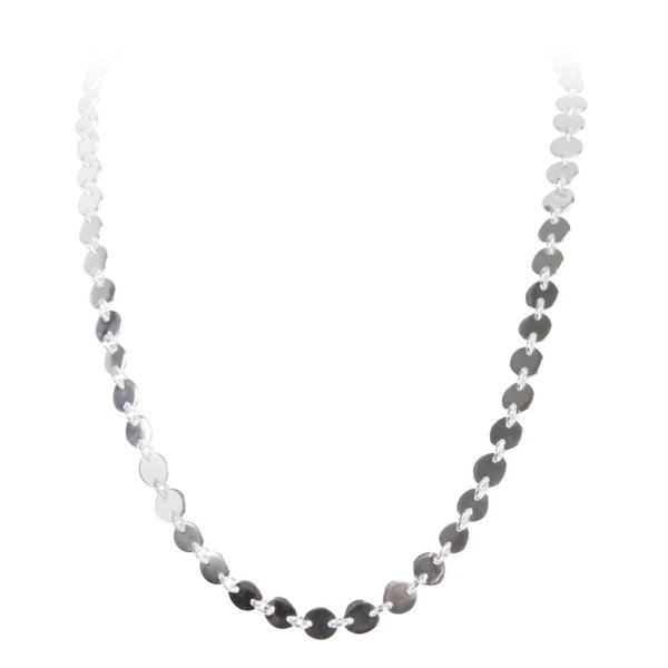 ALEXA WATERFALL NECKLACE - SILVER