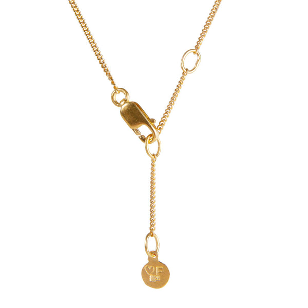 MOROCCAN DROP NECKLACE - GOLD