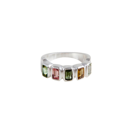 EMERALD STACKER RING