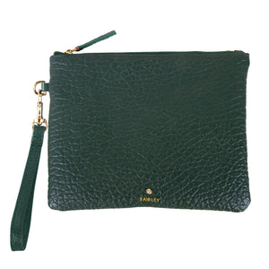 FOREST TEXTURED CLUTCH