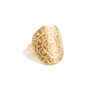 ZODIAC RING - GOLD