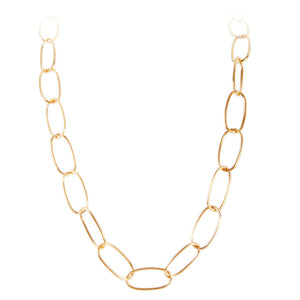 MARILYN LINK NECKLACE - GOLD