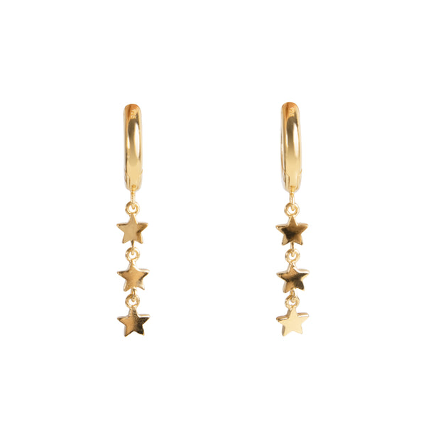 MINI STARDUST HOOPS