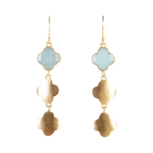 AMAZONITE MOROCCAN DROPS
