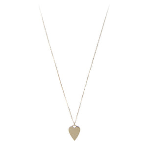 14K GOLD HEART OF GOLD NECKLACE