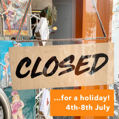 Closed for a holiday!