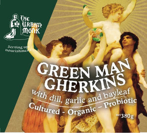 Green Man Gherkins