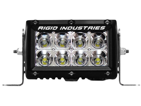 "RIGID INDUSTRIES LED LIGHT BAR E-SERIES 4"" FLOOD"