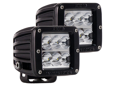 RIGID INDUSTRIES LED DUALLY D2- WIDE PAIR