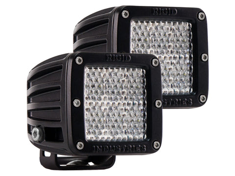 RIGID INDUSTRIES LED DUALLY D2- DIFFUSED PAIR