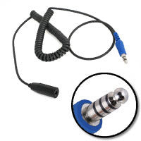 RUGGED RADIOS Coiled Offroad Headset to Intercom Extension Cable - Short