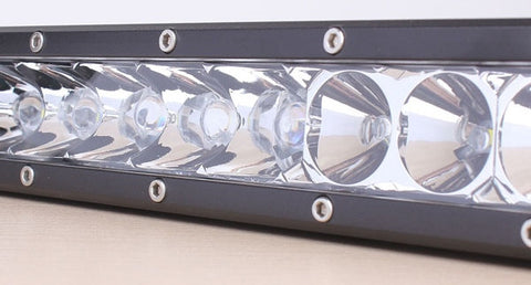 "LUXWURX 100W 20"" Single Row LED Light bar"