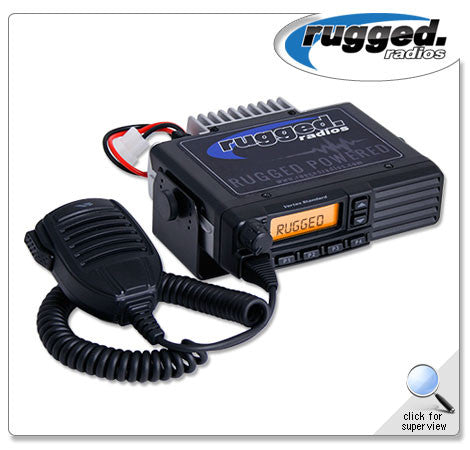RUGGED RADIOS Vertex VX2200 VHF or UHF 50 Watt Mobile Radio