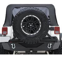 JEEP JK XRC Armor Rear Bumper with Hitch and Tire Carrier