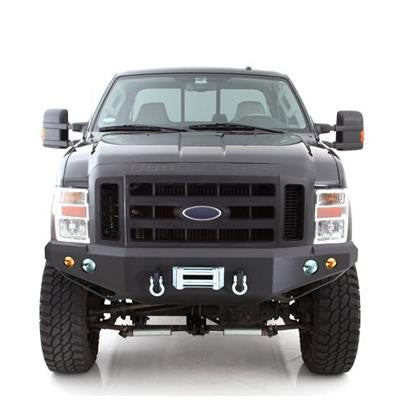 FORD F-250 /F-350 BUMPER M1 Ford Superduty Winch Mount Front Bumper with D-ring Mounts and Light Kit
