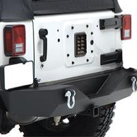 JEEP JK XRC Armor Rear Bumper with Hitch