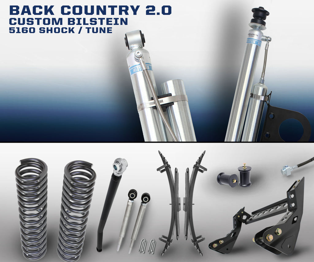 "CARLI SUSPENSION FORD SUPER DUTY 4.5"" LIFT BACK COUNTRY"