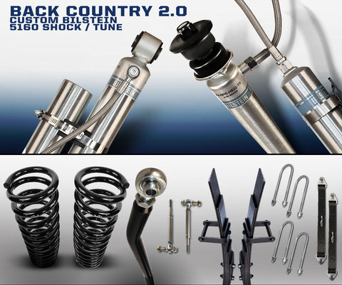 CARLI SUSPENSION BACK COUNTRY 2.0 BILSTEIN FOR DODGE