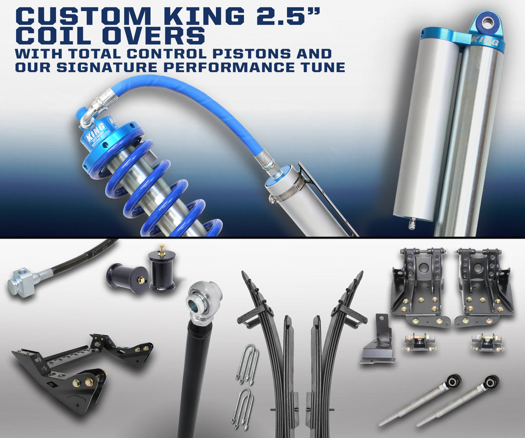 "CARLI SUSPENSION FORD SUPER DUTY 4.5"" LIFT 2.5 KING"