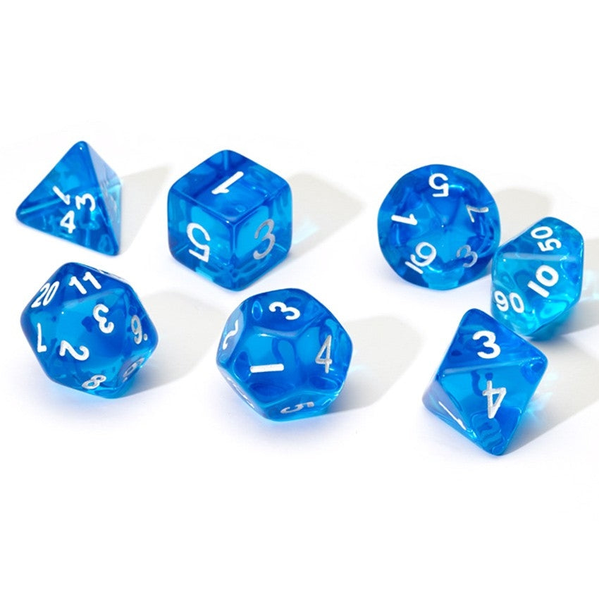 7-set TR BUwh Dice in Tube