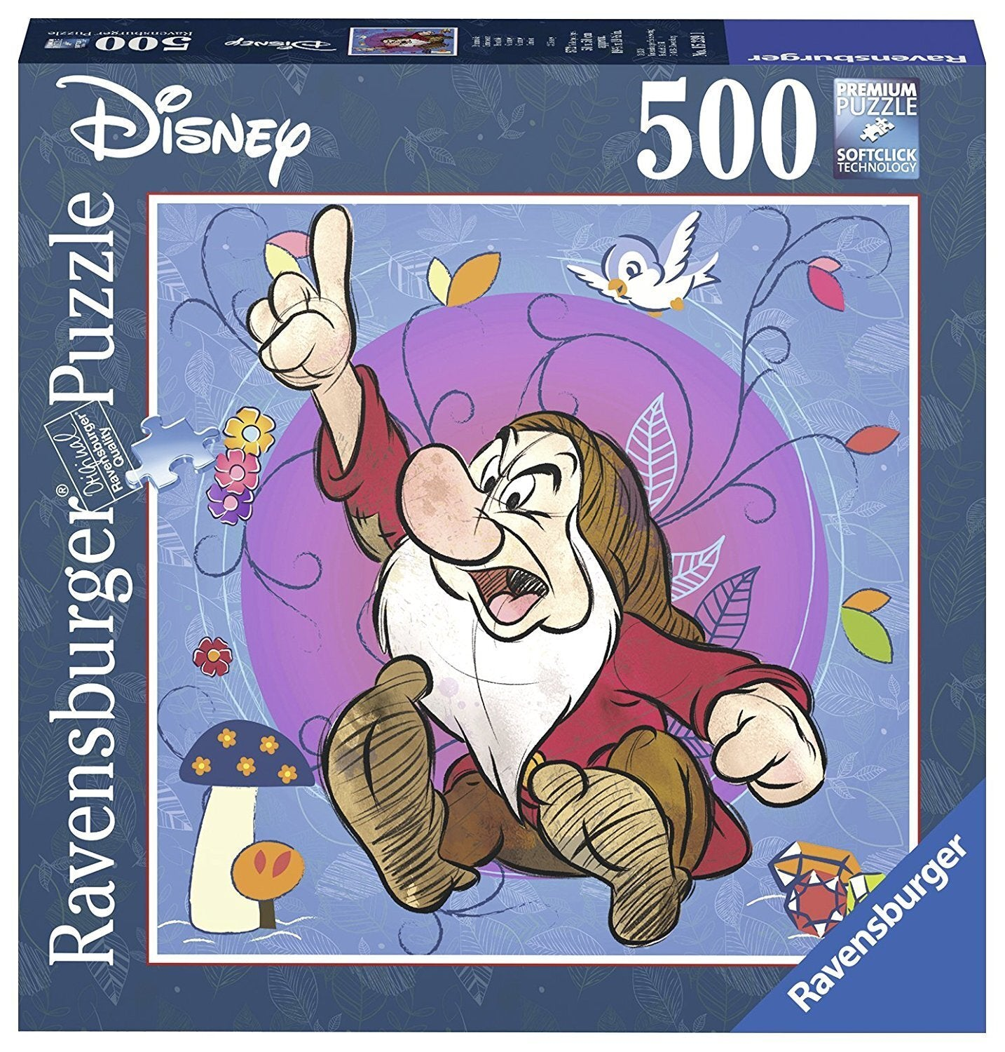Disney Grumpy Puzzle 500Pc Square