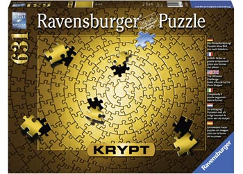 KRYPT Gold Spiral Puzzle 631pc