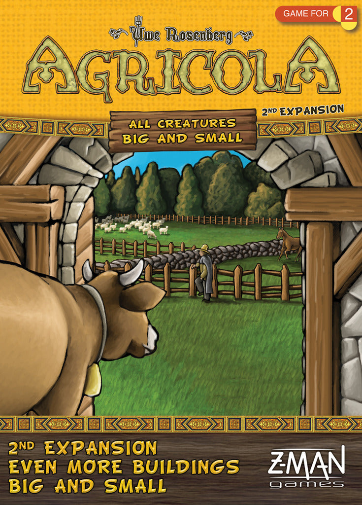 Agricola- Even More Buildings Big and Small Expansion