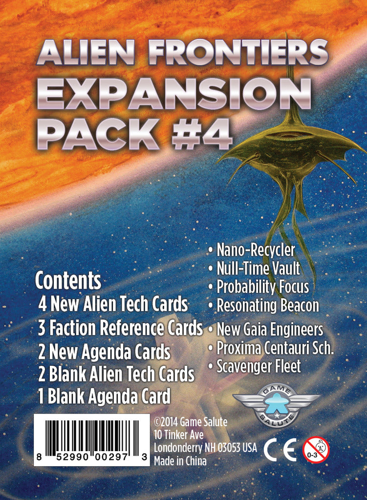 Alien Frontiers - Expansion Pack 4