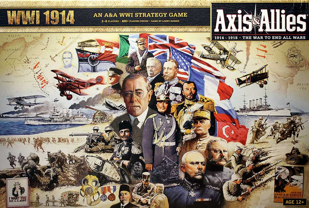 Axis & Allies- 1914 WW1