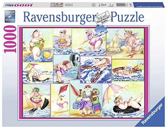 Bathing Beauties Puzzle 1000Pc