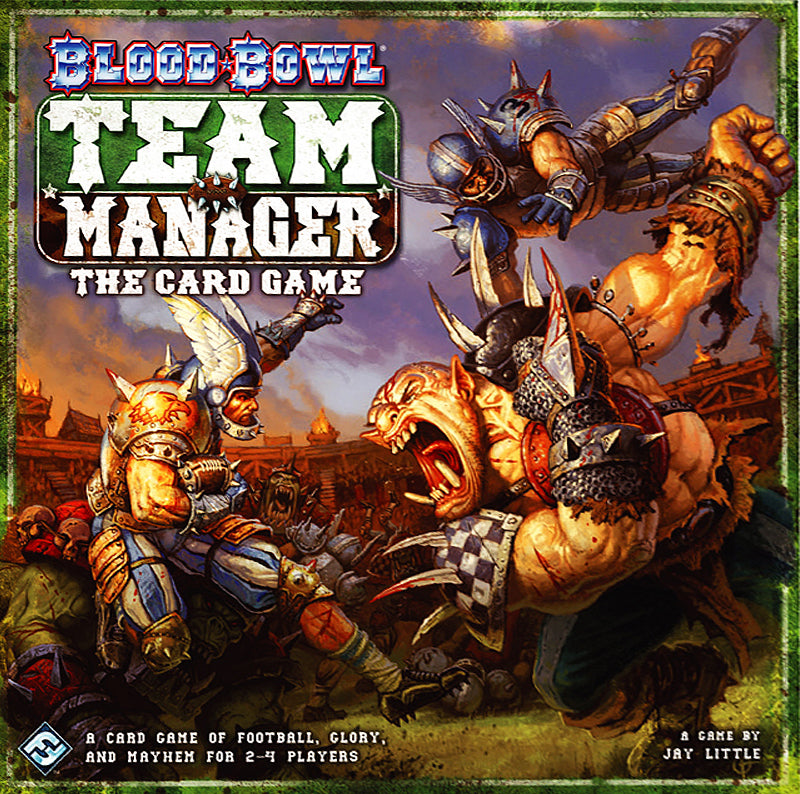 Blood Bowl Team Manager- Card Game