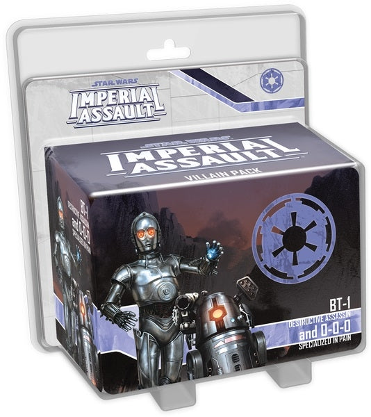 BT-1 and 0-0-0 - Star Wars Imperial Assault