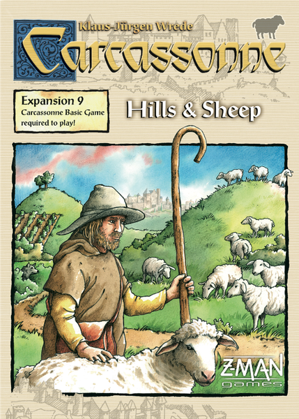 Carcassonne- Hills & Sheep