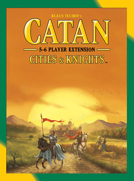 Catan- Cities & Knights 5-6 Player Extension