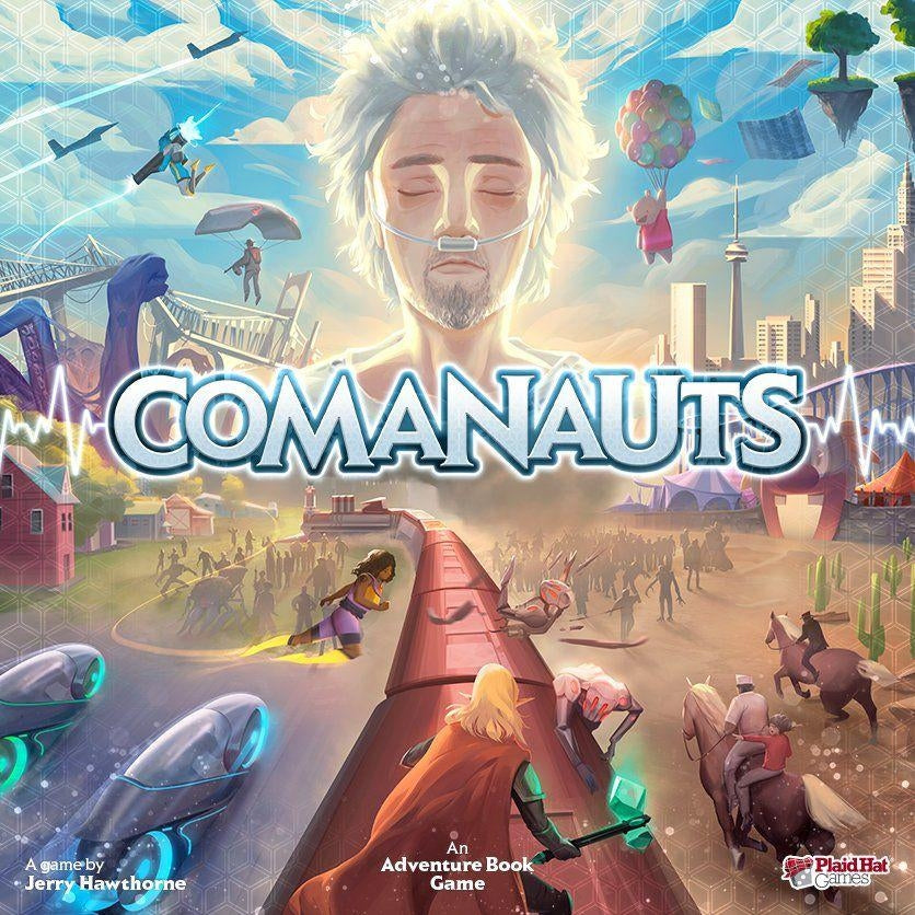 Comanauts an Adventure Book Game