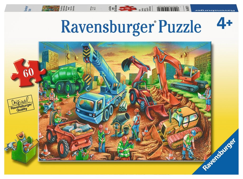 Construction Crew Puzzle 60pc
