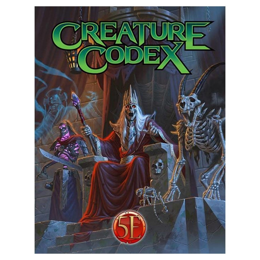 Creature Codex - 5e